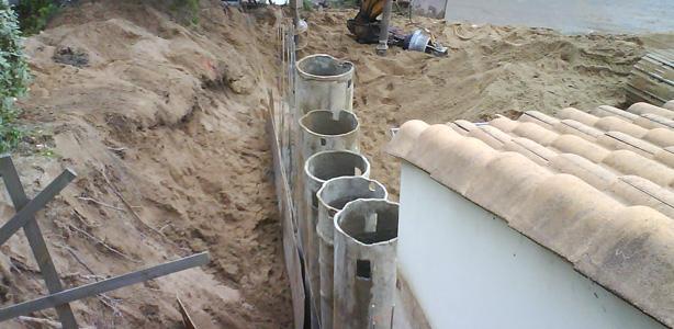 forages de puits sécants pour fondations spéciales en Vendée