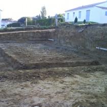 Terrassement de Maison