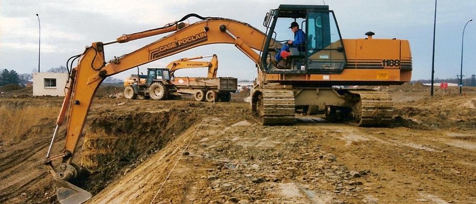 Thué forages - réalisations de terrassements